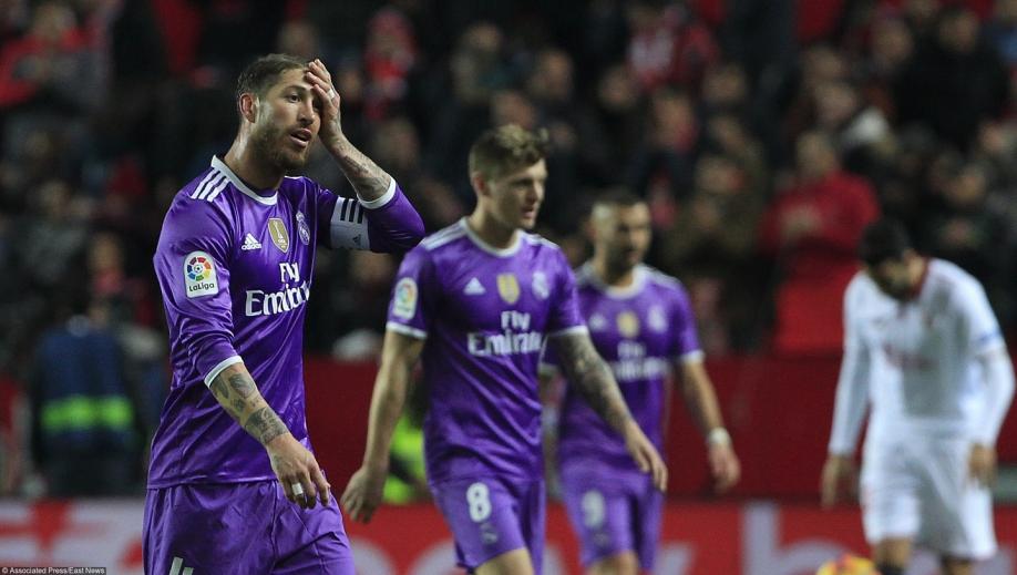 «Реал» прервал серию из40 встреч без поражений, пропустив напоследней минуте