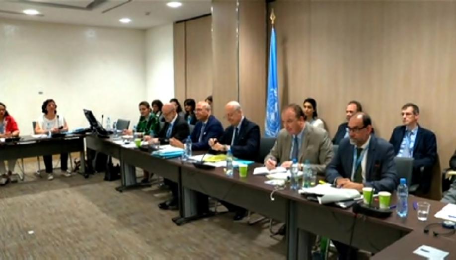 ДеМистура объявил , что намежсирийских переговорах был достигнут определенный прогресс