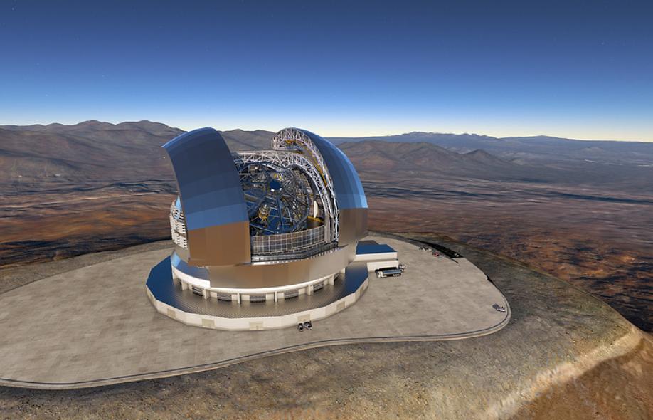 ВЧили начали строительство самого огромного телескопа