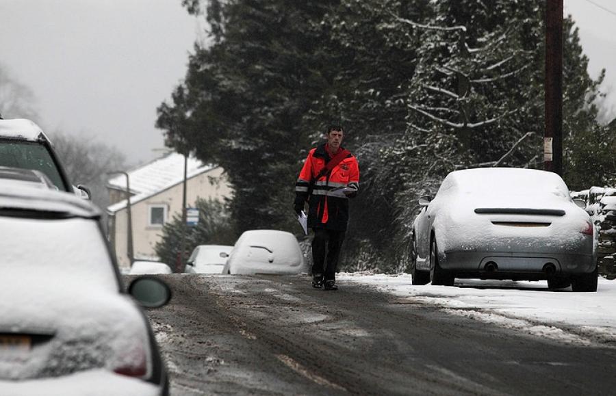 Морозы иснегопады сократят ВВП Англии вдвое