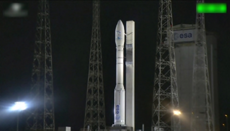 На космодроме Куру провели успешный запуск ракеты-носителя Vega