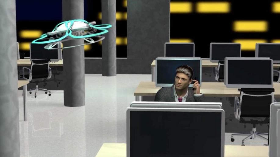 Японский дрон будет сражаться ссверхурочной работой