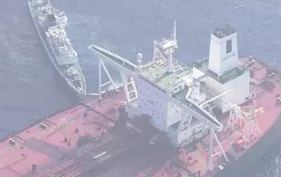Багамский танкер зажегся наподходе кЯпонии
