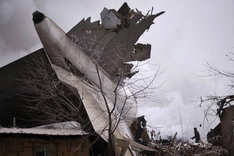 Под Бишкеком разбился грузовой самолет изСтамбула