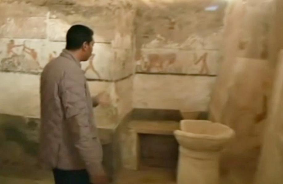 ВЕгипте найдена гробница Хетпет, жившей неменее 40 веков назад